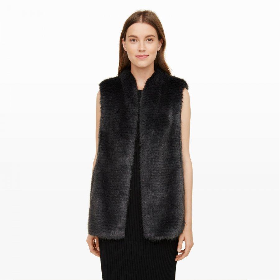Rayette Faux-Fur Vest