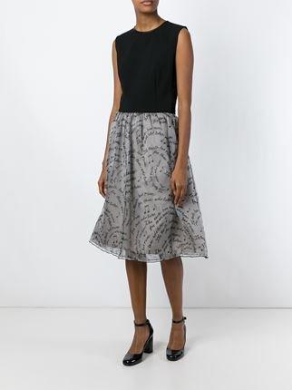 \'Benito\' layered skirt
