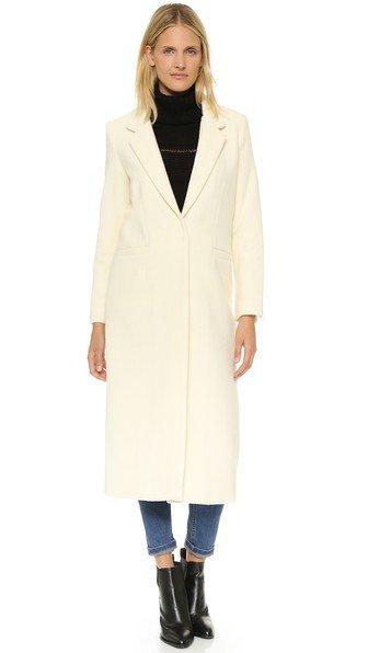 Single Breasted Maxi Coat