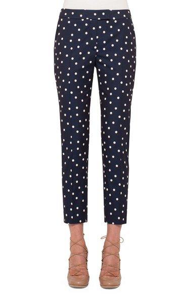 \'Frankie\' Crop Stretch Cotton Pants