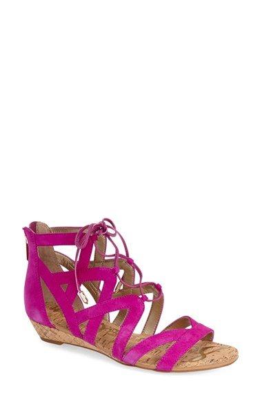 \'Dawson\' Lace-Up Sandal