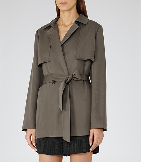 Nadia Belted Coat