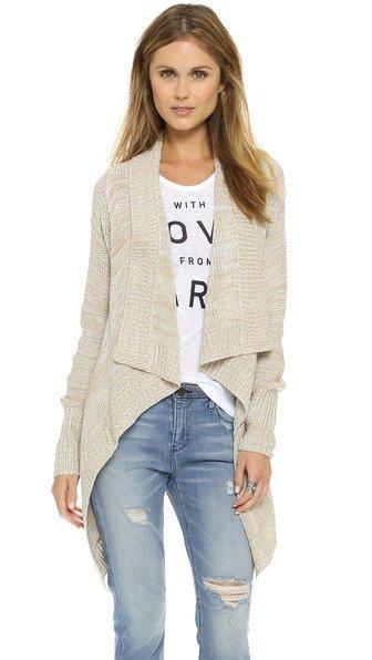 Tedra Marled Cardigan Sweater