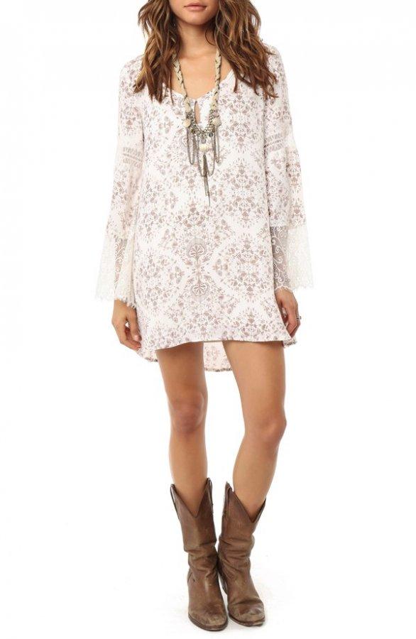 \'Panama\' Shift Dress