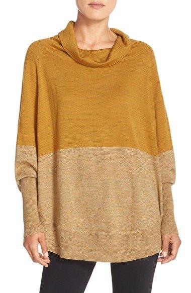 \'Nokoni\' Poncho Sweater