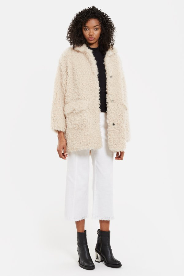 Faux Fur Mariko Coat