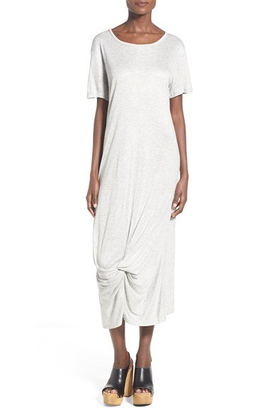 \'Crossing Paths\' Midi T-Shirt Dress