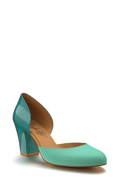 Colorblock Leather d\'Orsay Pump