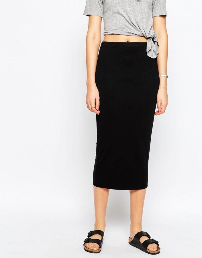 Midi Tube Skirt