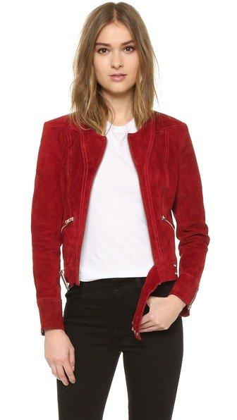 Tatiana Leather Jacket