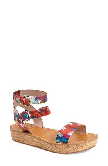 \'Jaclyn\' Platform Sandal