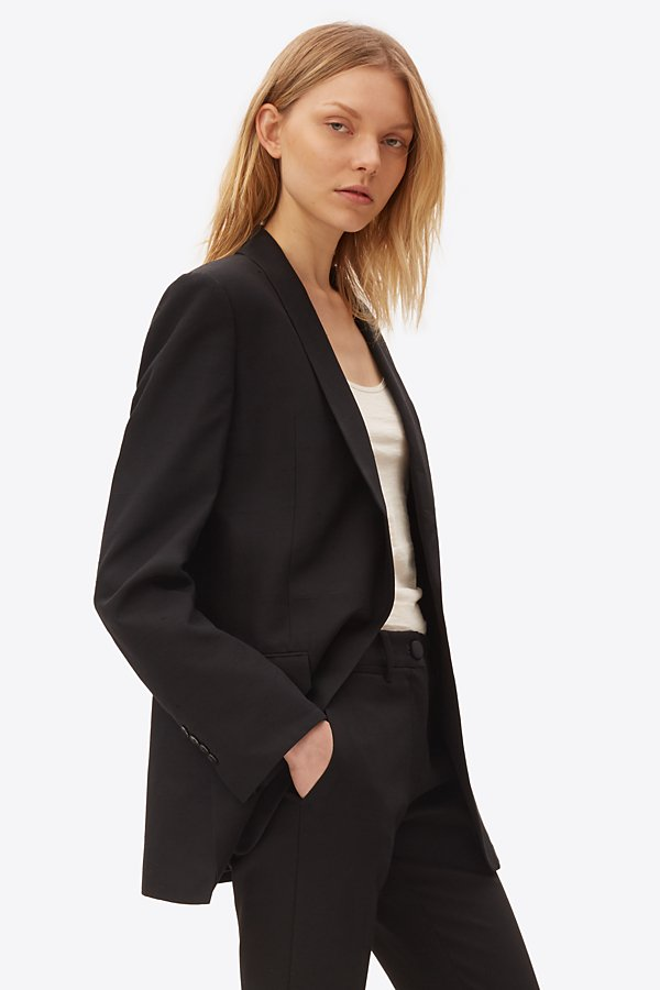 THEORY SILK SUITING JACKET