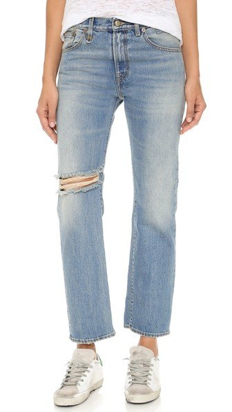 Catherine Relaxed Straight Leg Jeans