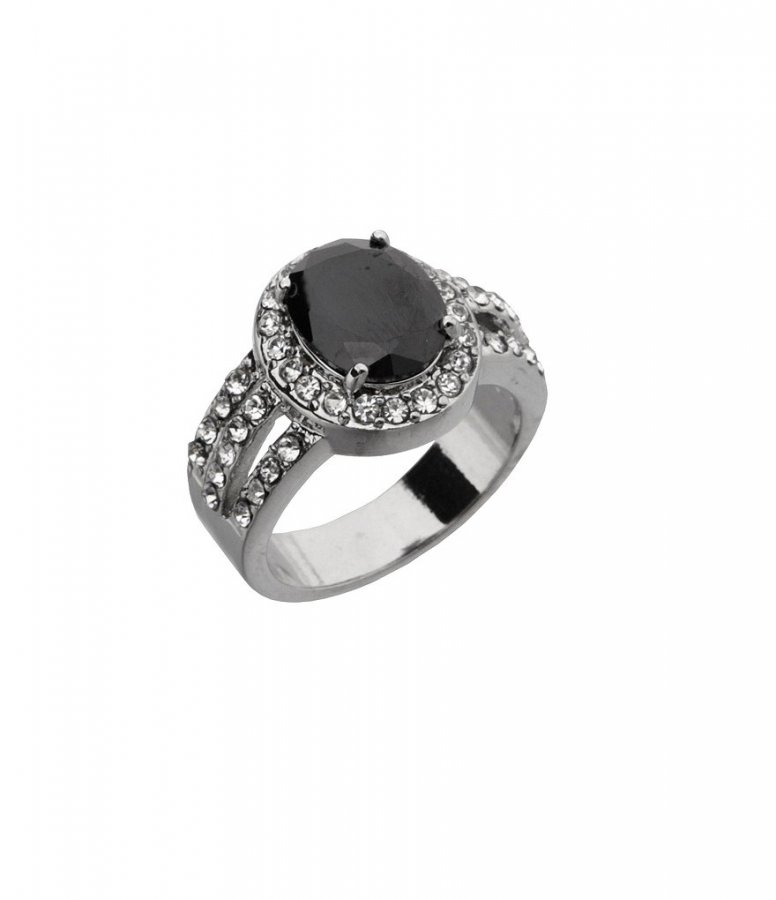 Oval-Cut Cubic Zirconia Ring
