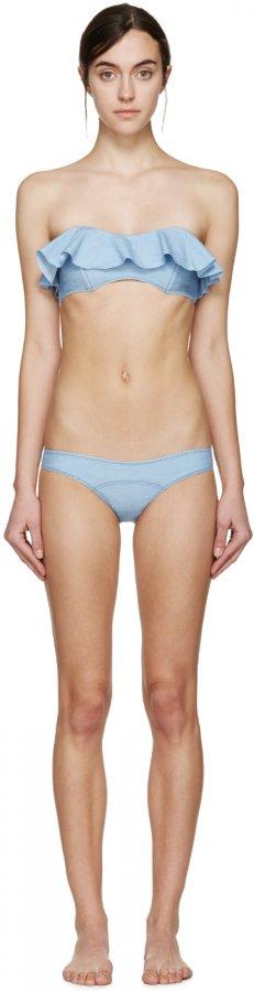 Blue Denim Natalie Bikini