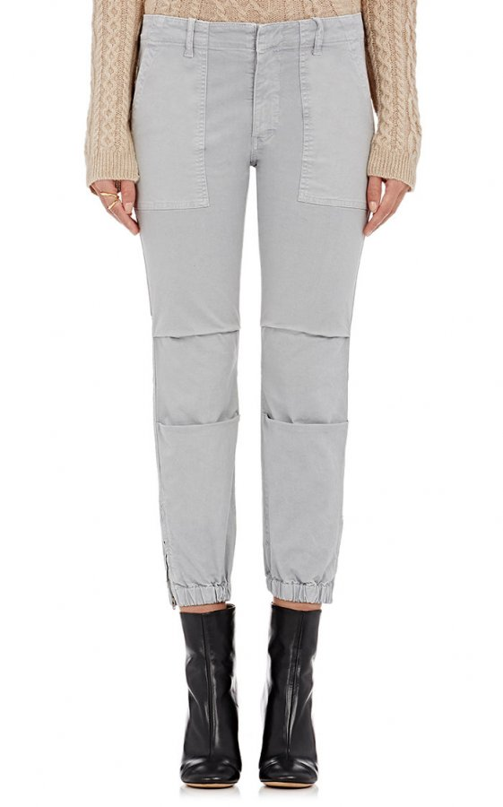 Crop Military Pants