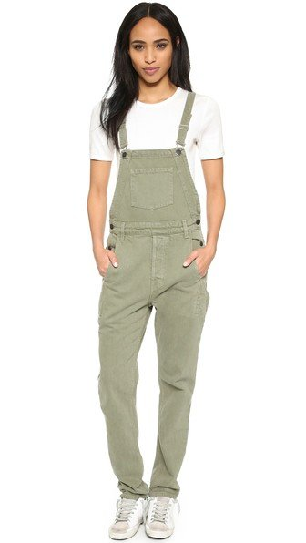 Loose Fit Overalls
