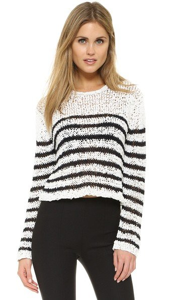 Knitted Crop Pullover