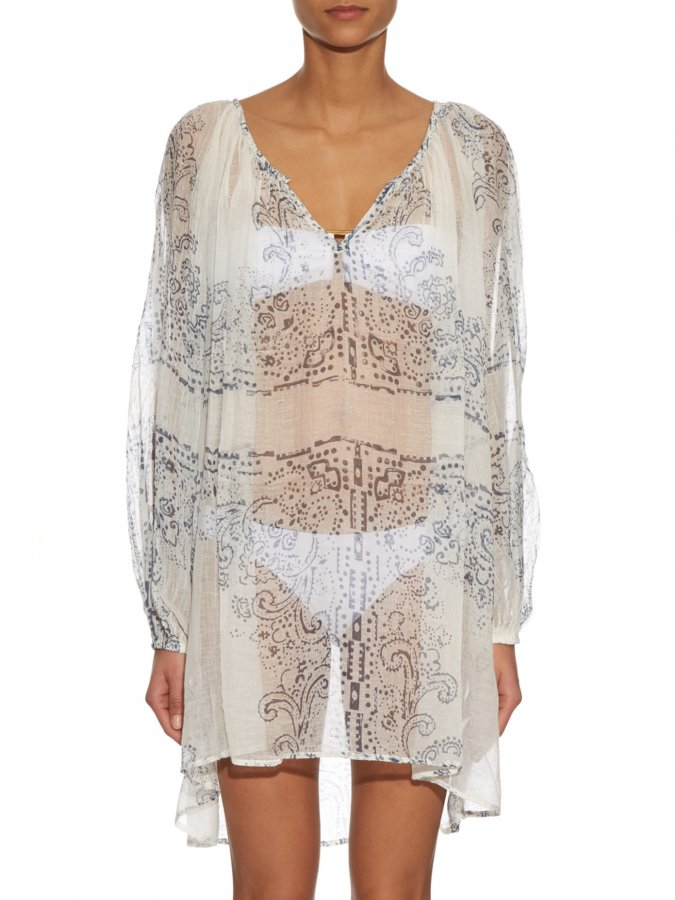 Badu bandana-print oversized shirt