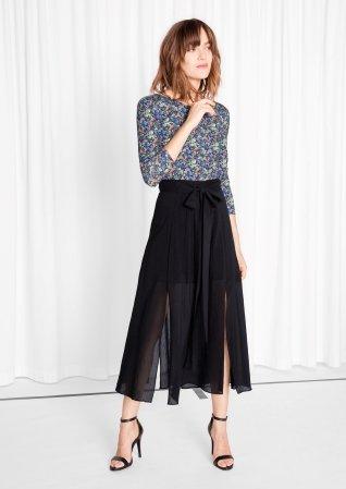 Multiple Slits Skirt