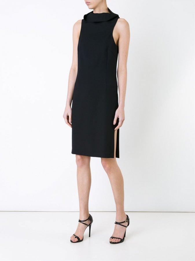 Armour split dress