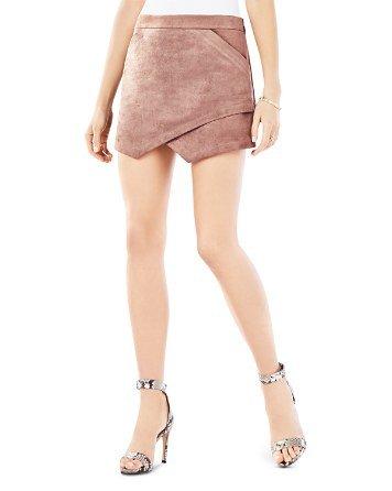 Beckett Faux Suede Mini Skirt