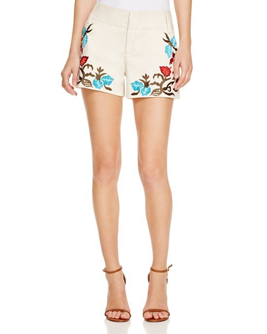 Cady Embroidered Shorts