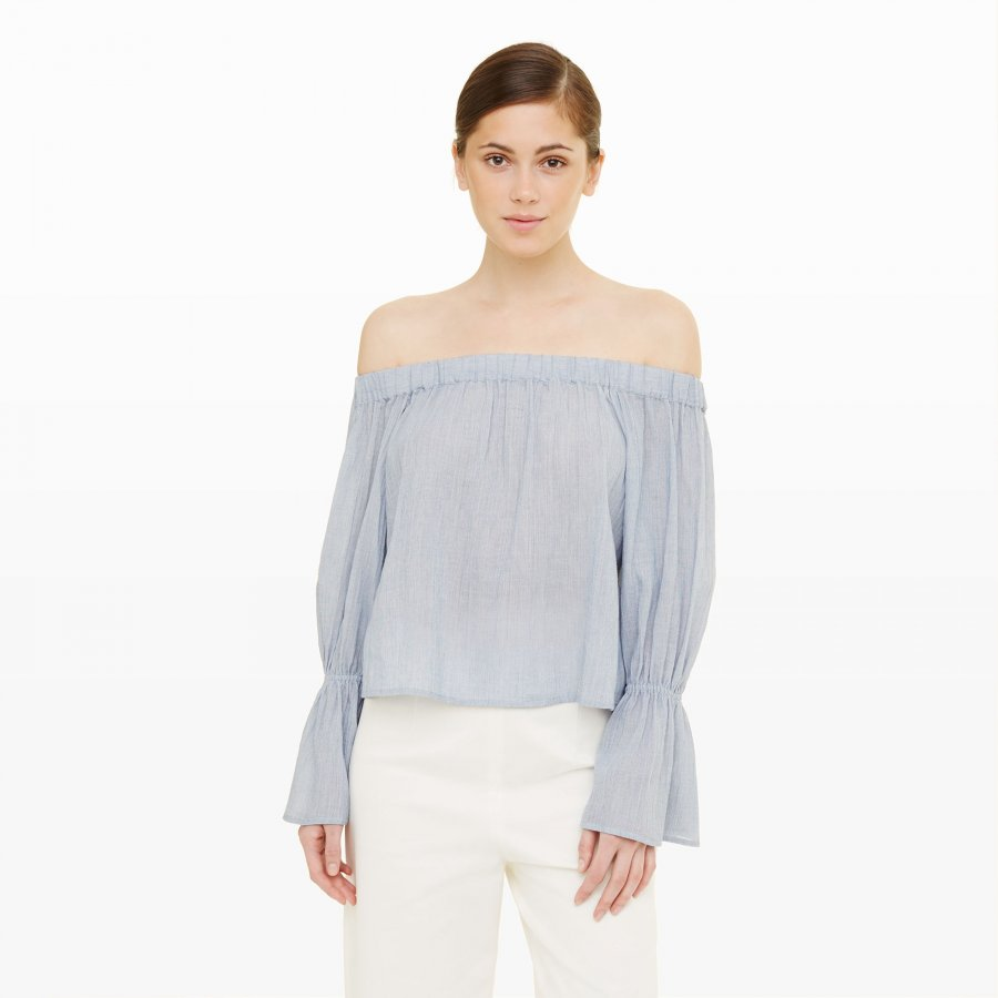 Plumina Off-The-Shoulder Top