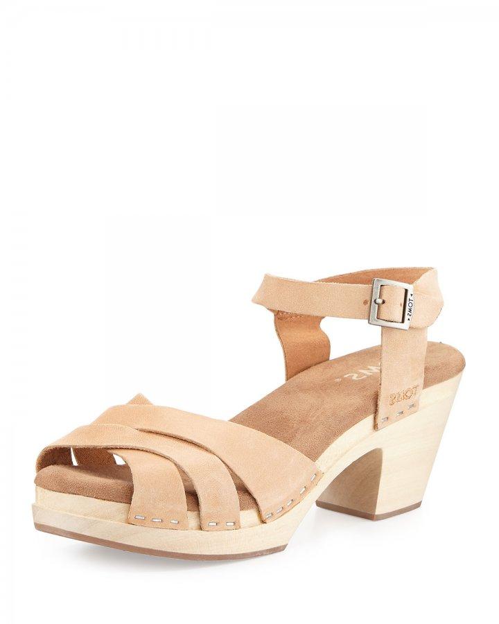 Beatrix Leather Clog Sandal