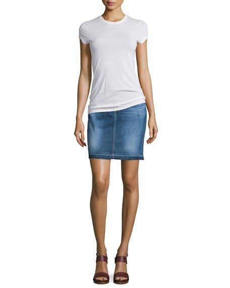 The Erin Denim Skirt