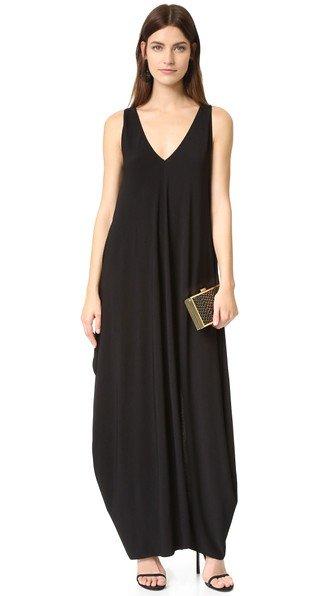 Arlene Draped Maxi Dress