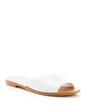 Caserta Wrap Slide Flat Sandals