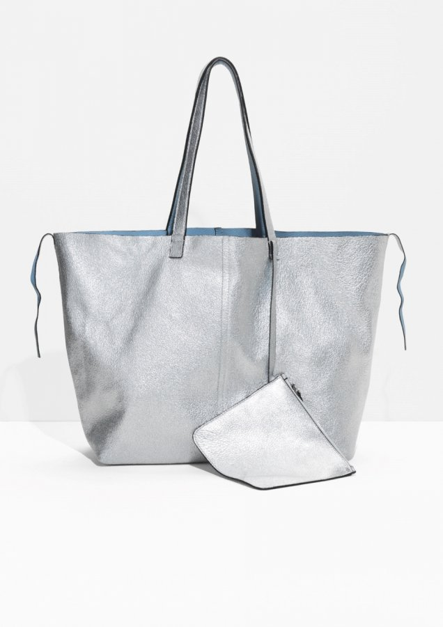 Reversible Leather Shopper