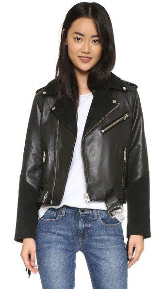 Moss Leather Jacket