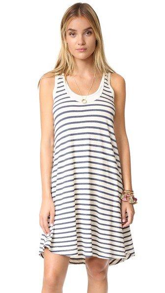 Sequoia Stripe Tank Dress