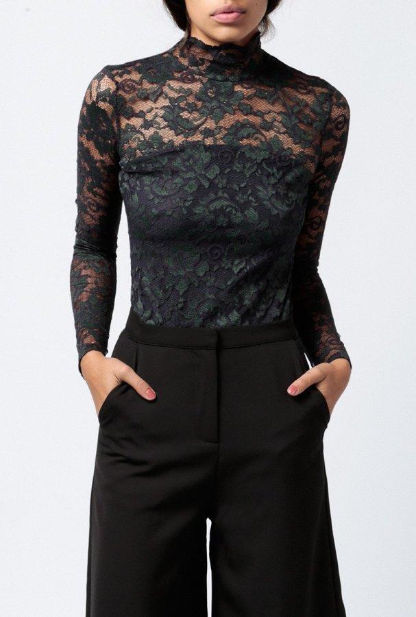 L/S Lace Bodysuit
