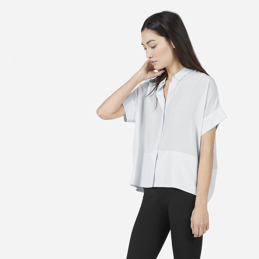 The Square Silk Shirt