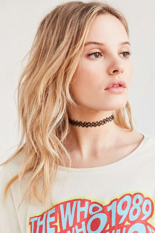 Tattoo Choker Necklace
