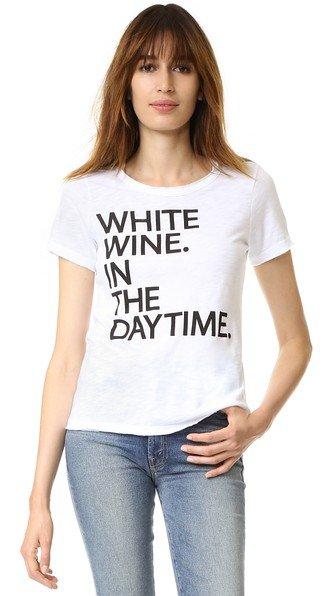 White Wine Tee