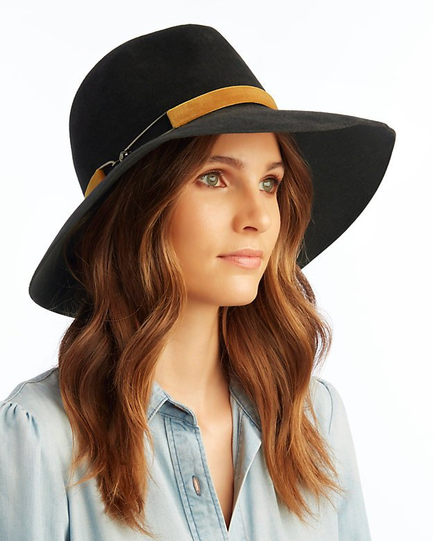 Eugenia Kim Farrah Medium Brim Hat - INTERMIX®