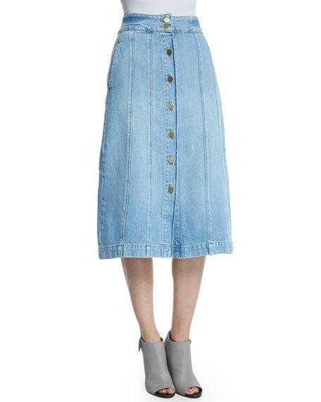 Le Panel Denim Skirt, Belfast