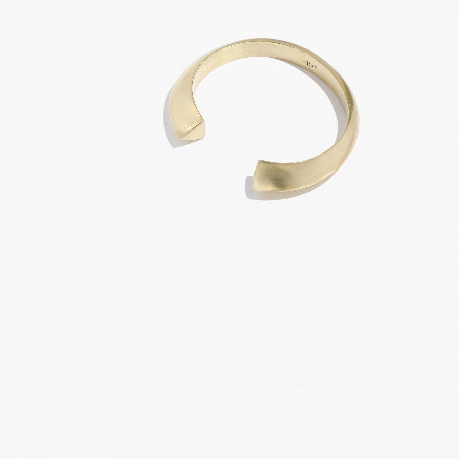 Rivet & Thread Cuff Bracelet