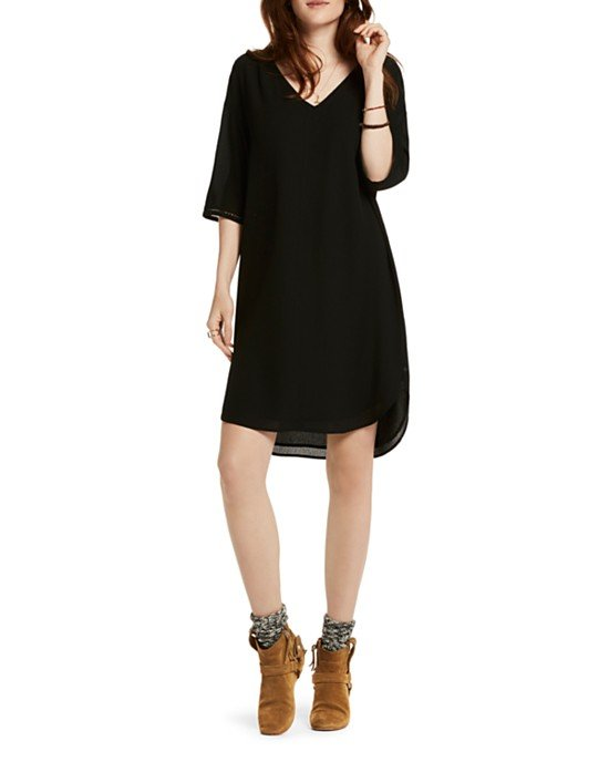 Ladder Stitch Tunic Dress