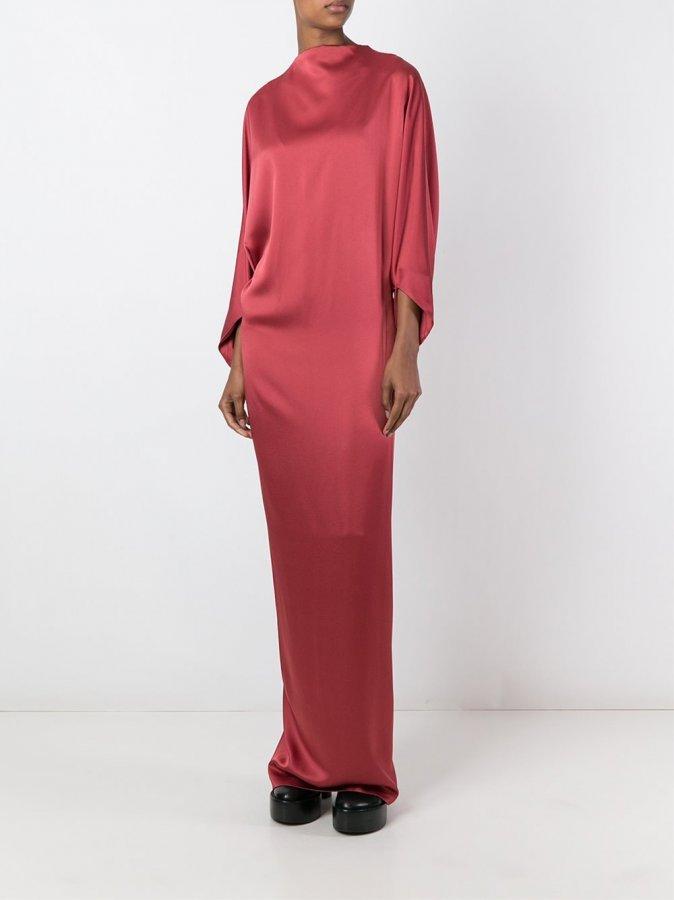 Chalayan Long Signature Drapey Dress