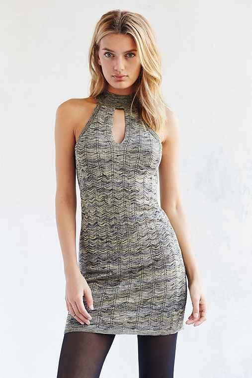 Ecote Multi Yarn Mini Sweater Dress