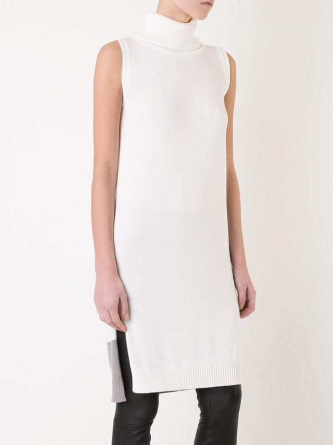 Loveless Sleeveless Knitted Midi Dress