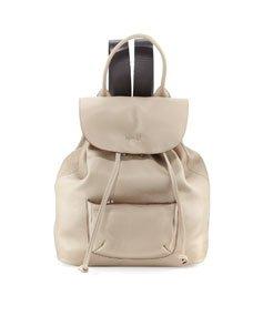Elizabeth and James Langley Leather Backpack, Bone