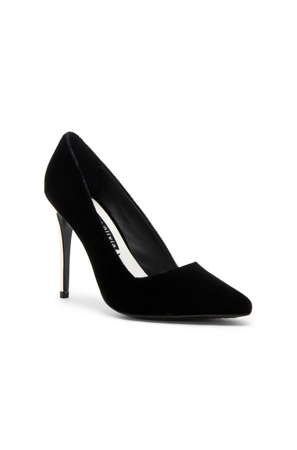 Dina Velvet Heel