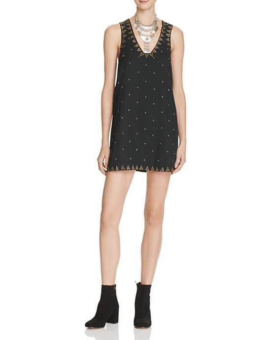 Soho Studded Shift Dress