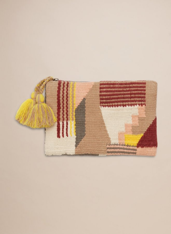Mod Tapestry Pouch